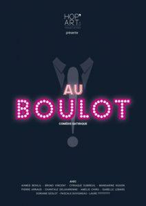 Affiche de la pièce Au Boulot
